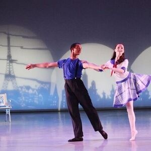 An American in Paris with The School of Richmond Ballet -Union Bank &Trust Lollipops