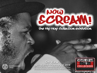 Now Scream!: the Hip Hop Collection exhibition