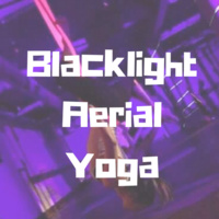 Blacklight Aerial Yoga