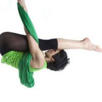 Aerial Yoga Drops, Flips & Tricks