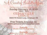 A Country Bridal Affair