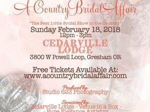 A Country Bridal Affair Travel Portland