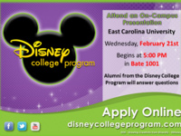 Disney College Program Info Session