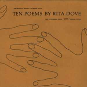 "Library Exhibition ""National Poetry Month: Celebrating the Poetry of Rita Dove"""