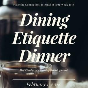 Dining Etiquette Dinner