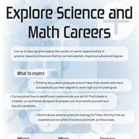 Careers in Science and Math
