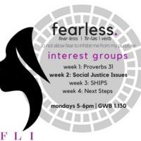 """Fearless Leadership Institute: Interest Group Week 4 - """"Next Steps"""""""