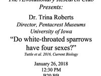 Do White-Throated Sparrows Have Four Sexes?