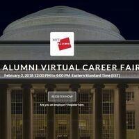 MIT Alumni Virtual Career Fair