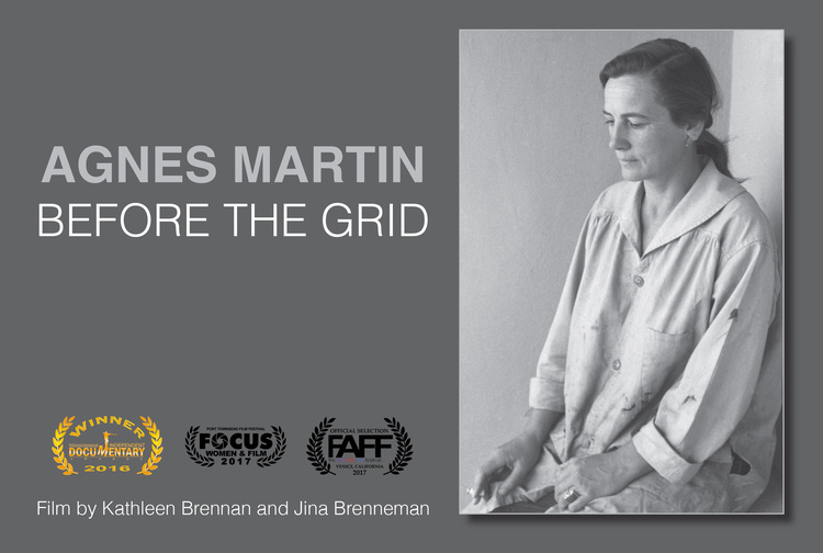 Director's Talk and Screening of Agnes Martin Before the Grid