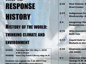 History of The World:  Thinking Climate and Environment