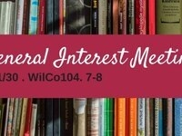 Undergraduate English Council: Spring General Interest Meeting