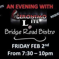 Geronimo Lite at The Bistro!!