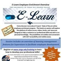 E-Learn Employee Enrichment – Supervisor Role