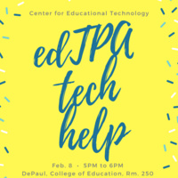 EdTPA Tech Help Workshop