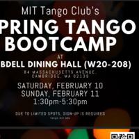 MIT Tango Club: Beginner Spring Tango Bootcamp