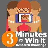 3 Minutes to Win It Research Challenge - Online Voting is Open