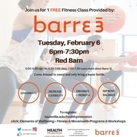 FREE Barre 3 Fitness Class