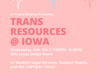 Trans Resources at Iowa