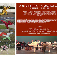 A Night of Taiji & Martial Arts