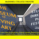 THE MUSEUM OF LIVING ART:  A STUDENT-DIRECTED PLAY FESTIVAL