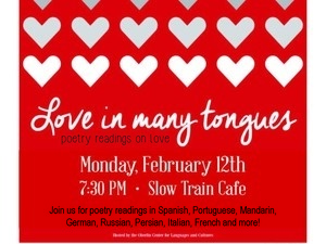 Love in Many Tongues: Poetry Reading