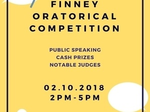 Cancelled: Charles Finney Oratorical Competition