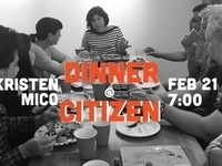 Dinner At Citizen: An Evening With Kristen Mico