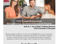 Dr. Amos Hatch: Strengthening Qualitative Research Projects
