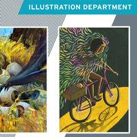 Senior Illustration Thesis Exhibition I Reception