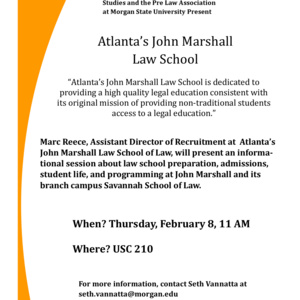 Law School Informational Session