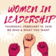 Women In Leadership Symposium Networking & Lunch