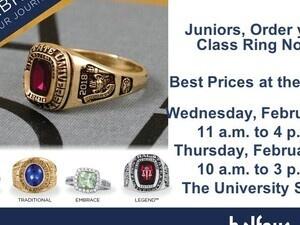 Balfour Ring Rep on Campus