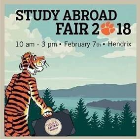 Clemson Study Abroad Fair
