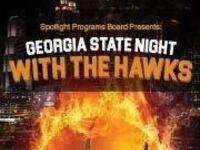 Georgia State Night with the Hawks