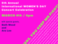 Aurora Chorus International Women's Day Concert Celebration