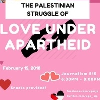 Discussion: The Palestinian Struggle of Love Under Apartheid