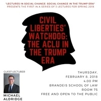 """Civil Liberties' Watchdog: The ACLU in the Trump Era"""