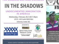 """Film Series and Panel on Undocumented Immigration in America: """"In the Shadows"""""""