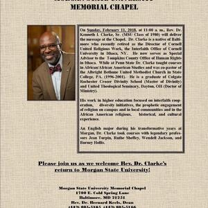 Black History Month Worship Service feat. Rev. Dr. Kenneth I. Clarke, Sr.