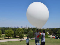 Homecoming Weather Balloon Launch