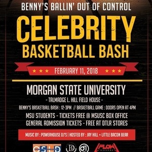 Benny's Ballin' Out of Control Celebrity Basketball Game
