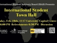 International Student Town Hall