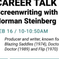 Career Talk: Screenwriting with Norman Steinberg