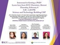 ECU Chemistry Alumni Panel