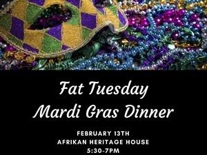 Fat Tuesday Mardi Gras Dinner