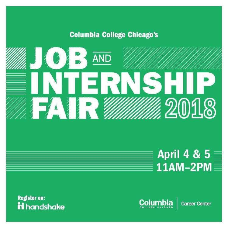 Columbia College Chicago's 2018 Job and Internship Fair