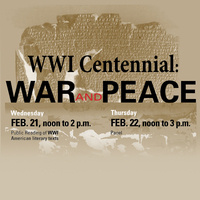 WWI Centennial: War and Peace