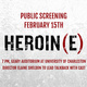 Heroin(e) Screening & Cast Talkback