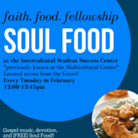 Soul Food: Faith. Food. Fellowship.